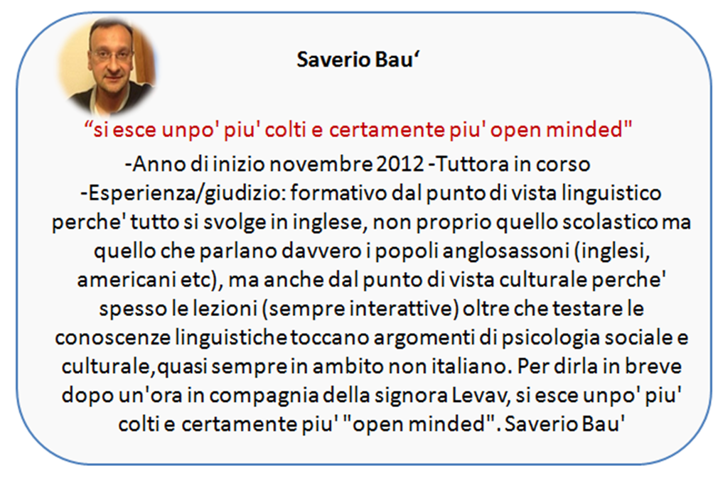 soave english saverio bau'